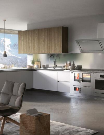 Tischherde in modernen Küchen