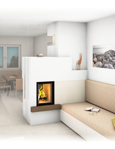 kachelofen moderner als raumteiler kosten wohn design. Black Bedroom Furniture Sets. Home Design Ideas