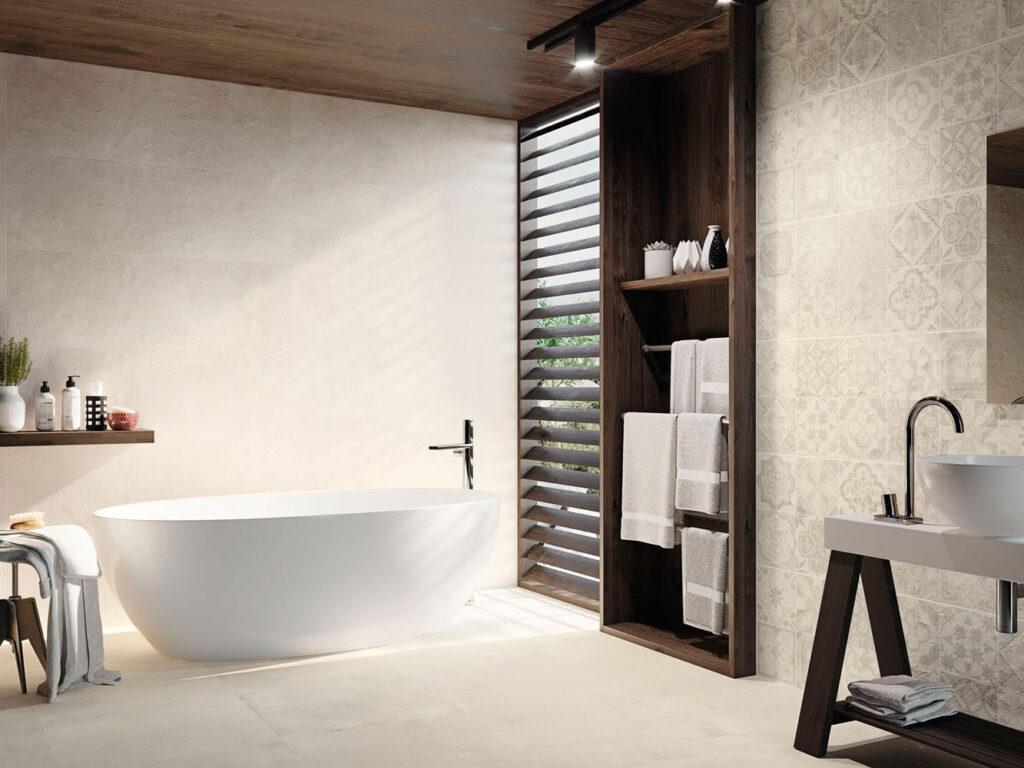 Orientalische Fliesen im Bad